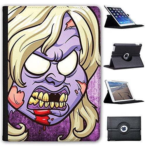 de Haare attraktiver Zombie Violett Case Cover/Folio aus Kunstleder für Das Apple iPad Pro 9.7