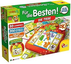 Lisciani 52516-carotina vorschule-para los Mejores-Los Animales, Juego