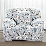 #5: Warmingecom Stretch Slipcover Big Elastic Printed Sofa Furniture Cover (2#)(1 Seat)