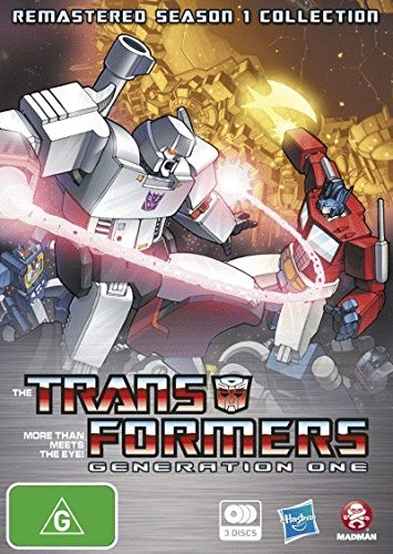 the transformers - TRANSFORMERS DVD G1 REMASTERED SEASON 1 COLLECTION (1 DVD) - Serie Transformers G1