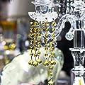 H & D 20mm 100Kristall Kugel Prismen Kronleuchter Drop Anhänger mit 14mm Octagon Perlen Lampe Kandelaber Teile zum Aufhängen Hochzeit Weihnachten Favor von H&D Crystal Manufacture CO.LTD auf Du und dein Garten