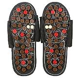 Massage-Schuhe Fußmassagegerät Massage Schuhe mit 41 TAi CHI Massagepunkte Fußreflexzonen Akkupressur für Fußpflege Entspannung für Männer und Frauen(38-39-Tai Chi Diagramme)