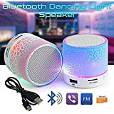 GKP Products ® Mushroom Rechargeable Portable Bluetooth Speaker With SD Card Slot And FM Compatible For All Android/Iphone Mobiles - Assorted Color Model 400159
