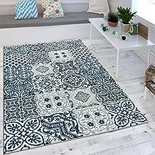 Suchergebnis Auf Amazon De Fur Teppich Blau Weiss