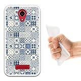 WoowCase Doogee X3 Hülle, Handyhülle Silikon für [ Doogee X3 ] Gemischte Schindeln Handytasche Handy Cover Case Schutzhülle Flexible TPU - Transparent