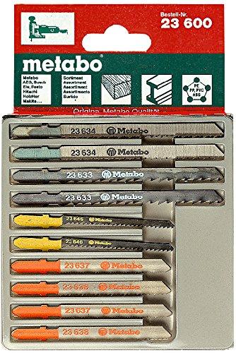 Preisvergleich Produktbild Metabo 6.23600.00 Stichsägeblattsortiment 10-teilig