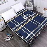 CHLCH Protector de colchón/Cubre colchón Acolchado, Impermeable, antiácaros, (Todas Las Medidas) Funda Protectora de lijar Impresa poliéster 27 200X200cmX25
