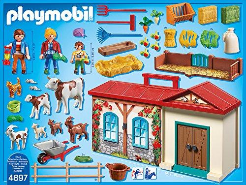 PLAYMOBIL 4897 – Mitnehm-Bauernhof - 3
