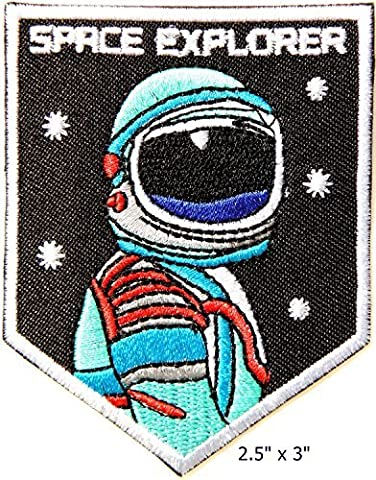 SPACE EXPLORER NASA USA Space Center Logo Flight Jacket T-shirt Uniform Patch by Baboo shop