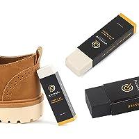 N / Nettoyant pour chaussures et bottes en cuir nubuck et daim. Lot de 2 gommes. Kit de nettoyage pour chaussures de…