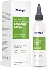 Pre Wash Anti-Recurrence Dandruff Lotion for Severe Dandruff - 100ml | Re'equil