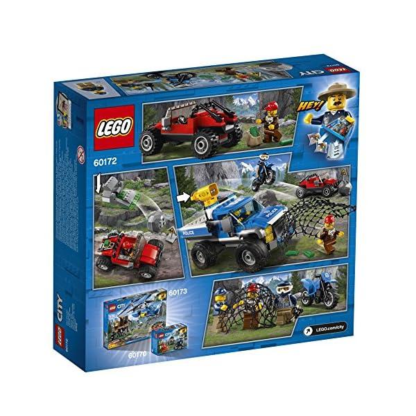 LEGO- City PoliceDuello Fuori Strada, Multicolore, 60172 5 spesavip