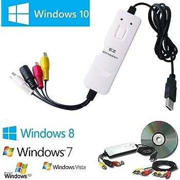 MyGica EZ Grabber Box USB Scheda Acquisizione Video per Passare VHS su DVD, Completo di Software Video Editing
