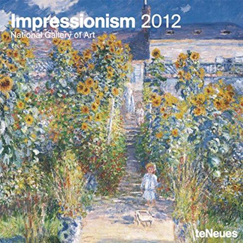 2012 Impressionism Grid Calendar