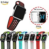 """Only Made for Apple Watch Series 2, Make it your own Personalise your Apple Watch in even more ways with straps available in a range of colours, styles and materials  Size Small Wrist Size:  6""""-7.7"""" Large Wrist Size:  7""""-8.85"""" Top Quality Watchband 1..."""