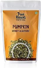 True Elements Harippa Roasted Pumpkin Seeds Snack, Honey Coated, 125g