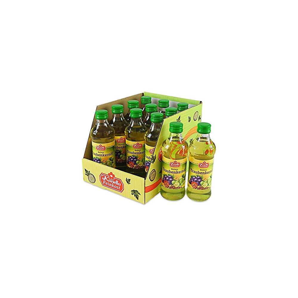 Kunella Reines Traubenkernl 12 Flaschen 250 Ml