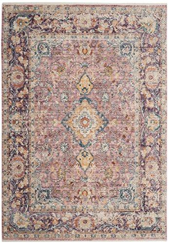Safavieh Modische Teppich, ILL700, Gewebter Viskose, Lila / Mehrfarbig, 160 x 230 cm - Safavieh Transitional Teppiche