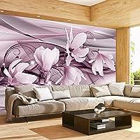 murando - Fototapete 150x105 cm - Vlies Tapete - Moderne Wanddeko - Design Tapete - Wandtapete - Wand Dekoration - Blumen Magnolien Abstrakt b-C-0002-a-d
