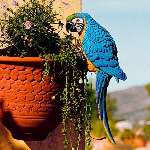 Gartenfigur Papagei Lora