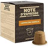 Note D'Espresso Preparato Solubile in Capsule per Bevanda al Gusto di Cappuccino e Vaniglia - 260 g (40 x 6.5 g) Esclusivamen