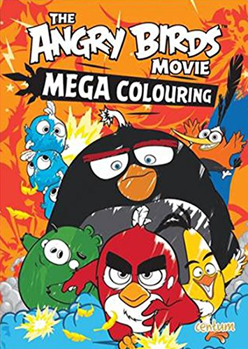 Image of Angry Birds Movie: Mega Colouring Book