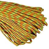 Paracord Seil Schnüre Nylon Outdoor Seil 4mm Stärke 7 Strängen Nylonschnur Fallschirmschnur Mehrzweck-Seil 250kg (550lbs) Bruchfestigkeit / Erhältlich in vielen verschiedenen Länge und Farben (U-006#, 50ft / 15m)