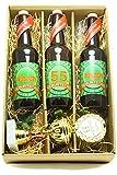 Bier Geschenk Präsentkarton mit Bier und Pokal 55. Geburtstag
