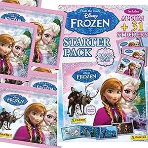 Panini Disney Frozen album et 31 autocollants - starter pack collector