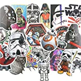 Aufkleber star wars Vinyl (25 STUCK), für Auto/ Fenster/ Wand/ Laptop sticker bomb star wars Sticker Aufkleber Trooper Darth Vader Comic Film