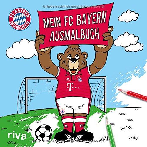 Preisvergleich Produktbild Mein FC-Bayern-Ausmalbuch