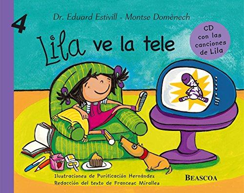 Lila ve la tele (Lila 4) por Montserrat Domènech Girbau