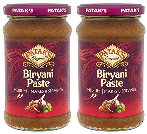 Preisvergleich Produktbild (2er BUNDLE) / PATAKS Biryani Curry Paste - 283g