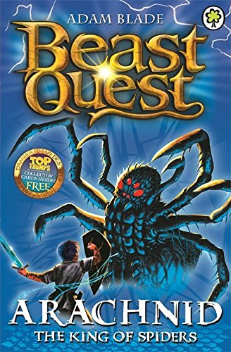 11: Arachnid the King of Spiders (Beast Quest)