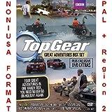 Top Gear: Great Adventures Collection [NON-U.S.A. FORMAT: PAL Region 2 U.K. Import] (Includes: Polar Special - Directors Cut, U.S.A. Special, Vietnam Special, Botswana Special - Directors Cut) BBC DVD
