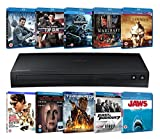 Samsung BD-J5500 Blu-ray Player + 10 Blu-rays (Limited Edition Zoom Exclusive Hardware Bundle) [Blu-ray]