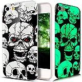 Coque iPhone SE,Coque iPhone 5S,Coque iPhone 5,Lumineux Fluoré fluorescent Brillent...