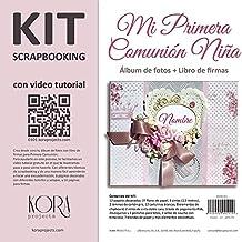 Kit scrapbooking Comunión Niña