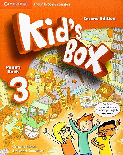 Kid's Box for Spanish Speakers Level 3 Pupil's Book Second Edition - 9788490364284 por Caroline Nixon