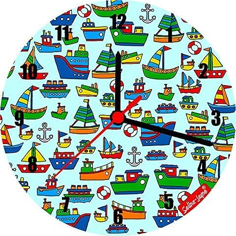 Selina-Jayne barche Edizione limitata Orologio da parete in (Barche Bere)
