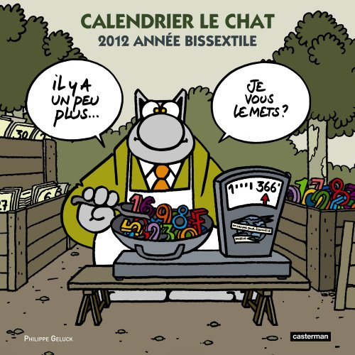 Calendrier le Chat 2012