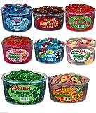 8 große Dosen Haribo Mix Frühjahrspaket 10,200kg Neu Schlümpfe waldmeistergeister Cherry saure Schnuller Happy Cola saure Schlümpfe Saure Gurken Riesen Erdbeeren