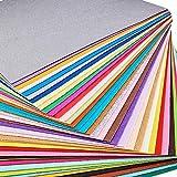 BENECREAT 40PCS 12 x 12 Pollici (30cm x 30cm) Morbido Feltro Tessuto Foglio Assortito Feltro di Colore Fai da Te Artigianale Cucito piazze Non Tessuto Patchwork