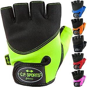 C.P. Sports Iron-Handschuh Komfort farbig Trainingshandschuh Fitness Handschuhe für Damen und Herren