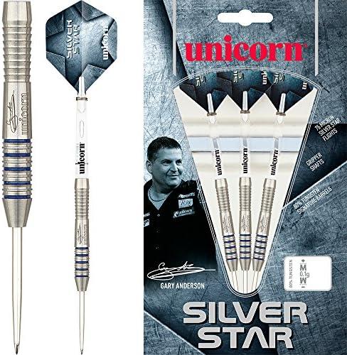 Unicorn argento Star freccette – Gary Anderson – GA3 GA3 GA3 – 21 g – con freccette angolare Curvy Ballpen B0743FF2RC Parent | Bel design  | Ampie Varietà  | Prestazione eccellente  | elegante  | Di Qualità Superiore  | Bel design  539efd