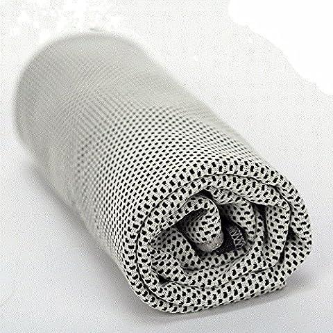 Quick Dry Ice Handtuch Sport Cool Artefakt Kaltem Eis Sport Handtuch Badetuch Handtuch Im Freien Trocknen Perfekte Reise Handtuch Hellgrau
