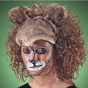 Carnival Toys Peluca León para disfrazar animales musicales