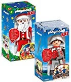 PLAYMOBIL XXL 4895 Knight y 6629 XXL Santa Claus
