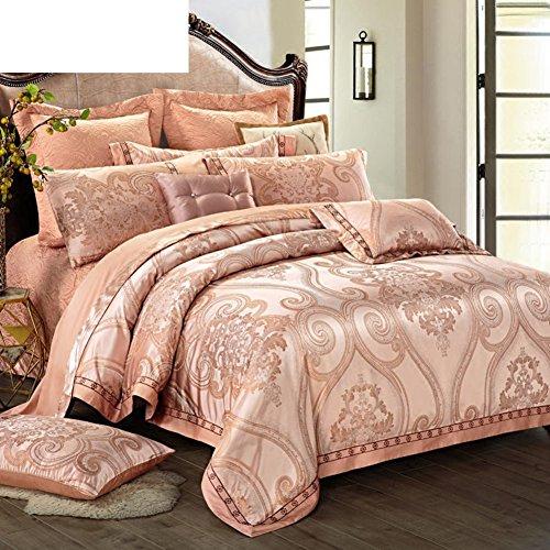 European luxury home textiles multi-suite bettwäsche 10-stück set-A King (Multi-stück-bettwäsche)