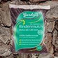 Rindenmulch Pinus Kiefer Deko 60-120mm 70L x 90 (6.300L / 3 Paletten) inkl. Versand von Rohstoffversand_de - Du und dein Garten